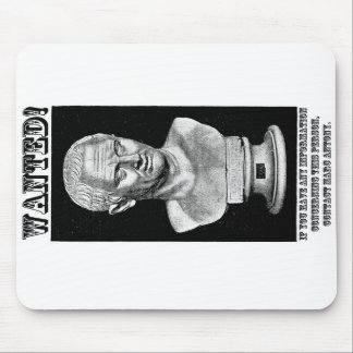 Cicero Wanted (English) Mouse Pad