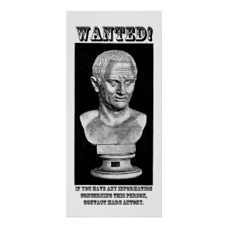 Cicero Wanted (English) Poster