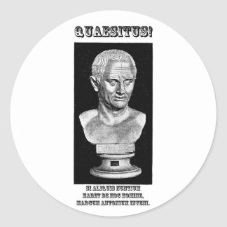 Cicero Wanted (Latin) Stickers