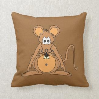 Ciceron Archive Rat Throw Pillow