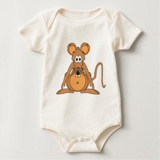 Cicerón the Archive Rat Baby Bodysuit