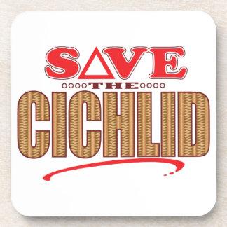 Cichlid Save Drink Coaster