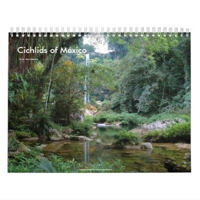 Cichlids of Mexico Calendars