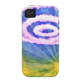 Cicle Clouds Case-Mate iPhone 4 Case