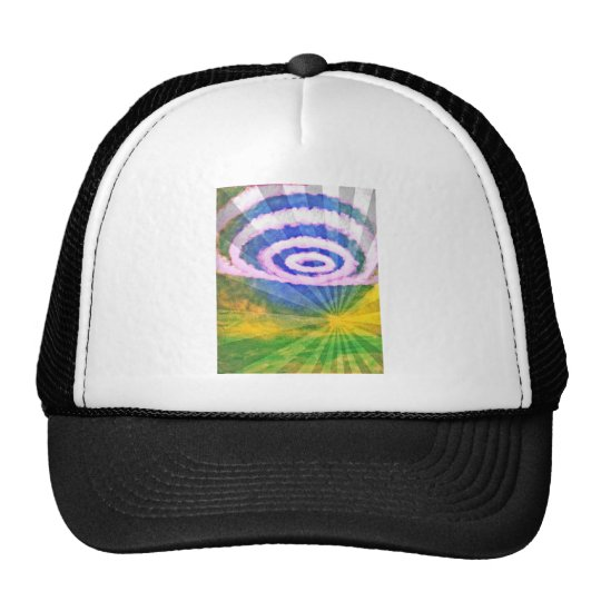 Cicle Clouds Trucker Hat