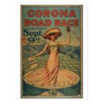 Ciclismo en ruta de la corona - 1913 postal