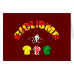 Ciclismo Spain Cycling Gifts Greeting Card