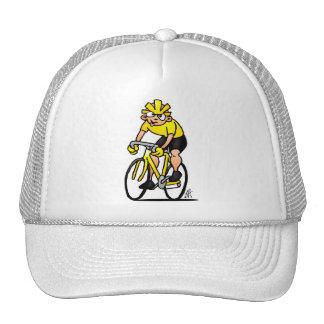Ciclista - completando un ciclo gorras de camionero
