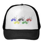 Ciclista de ciclo de la pista de tierra del bicyle gorra
