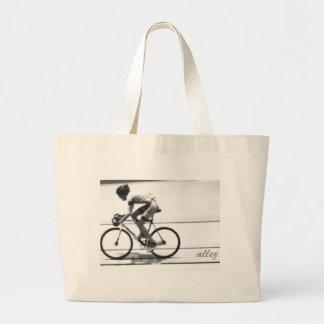 Ciclista de la pista bolsa