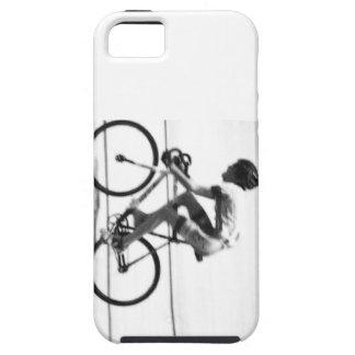 Ciclista de la pista iPhone 5 cobertura