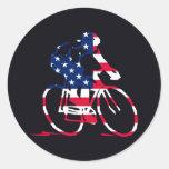 Ciclista de los E.E.U.U.