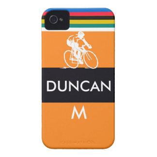 Ciclista del merckx del remolino carcasa para iPhone 4 de Case-Mate