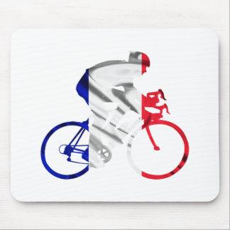 Ciclista del Tour de Francia Mousepads
