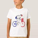Ciclista del Tour de Francia Remera