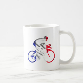 Ciclista del Tour de Francia Taza De Café