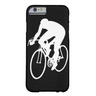"""""""Ciclista el competir con de camino """" Funda De iPhone 6 Barely There"""