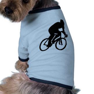 ciclista el Tour de Francia que compite con la bic Camisa De Mascota