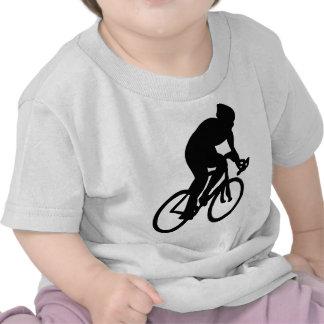 ciclista el Tour de Francia que compite con la Camisetas