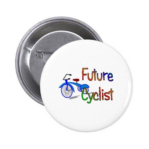 Ciclista futuro--Niños Biking los regalos y las ca Pin