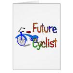 Ciclista futuro--Niños Biking los regalos y las ca Tarjetas