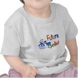 Ciclista futuro--Niños Biking los regalos y las Camiseta