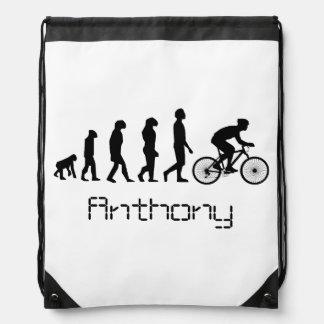 Ciclista personalizado mochila