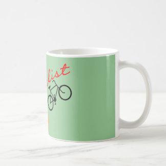Ciclista Taza De Café