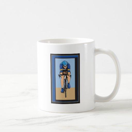 Ciclista Tazas De Café
