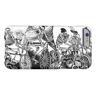 Ciclistas esqueléticos de José Guadalupe Posada Funda De iPhone 6 Barely There
