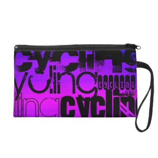 Ciclo; Azul violeta y magenta vibrantes