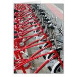 Ciclo Barcelona de ciclo que monta en bicicleta Es Tarjeta