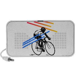 Ciclo colorido de la bici iPhone altavoces