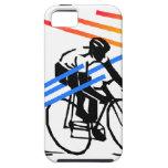 Ciclo colorido de la bici iPhone 5 protector