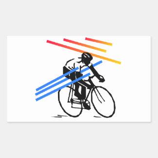 Ciclo colorido de la bici rectangular altavoz
