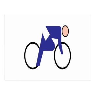 Ciclo de 2 postal