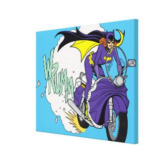 Ciclo de Batgirl Lienzo Envuelto Para Galerias
