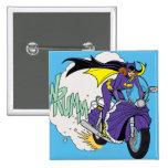 Ciclo de Batgirl Pin Cuadrada 5 Cm