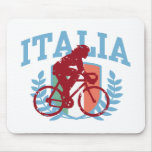 Ciclo de Italia (hembra) Tapete De Ratones