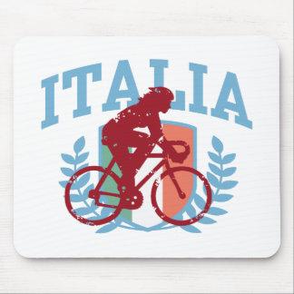 Ciclo de Italia (hembra) Tapetes De Ratón