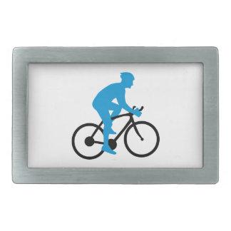 Ciclo de la bici hebillas cinturon rectangulares