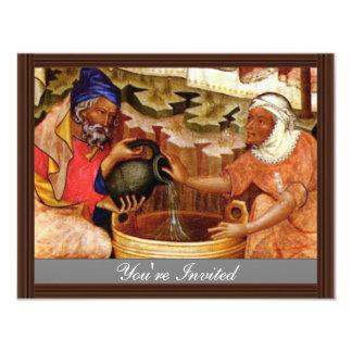 Ciclo de la pasión: Nacimiento de Cristo, por Invitación 10,8 X 13,9 Cm