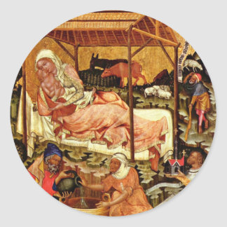 Ciclo de la pasión Nacimiento de Cristo por Meis Pegatinas