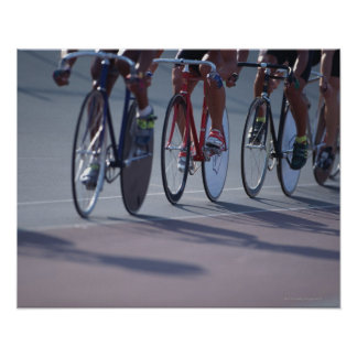 Ciclo de la pista póster
