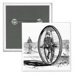 Ciclo de la rueda grande - bicicleta del Unicycle  Pins