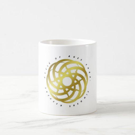Ciclo de la saga de las edades: Envase (logotipo O Tazas De Café
