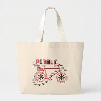 Ciclo de los PEDALES Bolsa Tela Grande