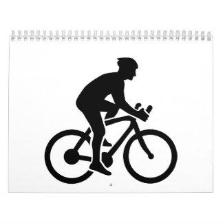 Ciclo de Mountainbike Calendario De Pared