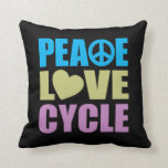 Ciclo del amor de la paz cojines