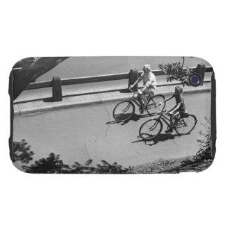 Ciclo del hombre y del muchacho tough iPhone 3 cobertura